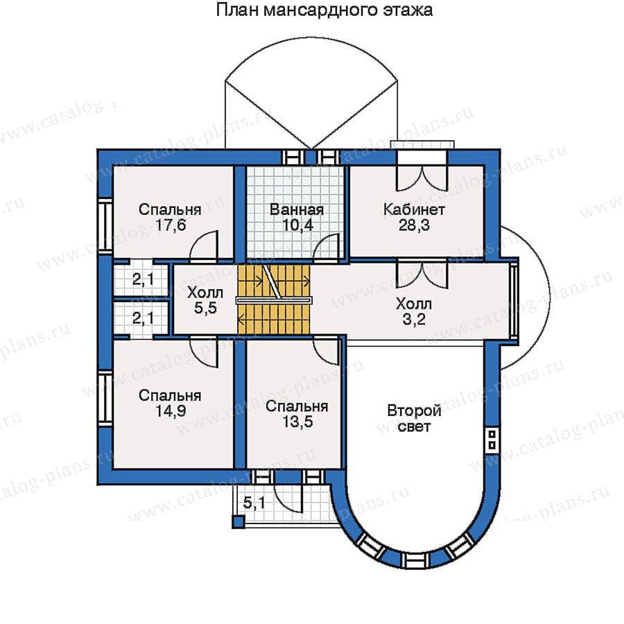 План 2-этажа проекта 50-66