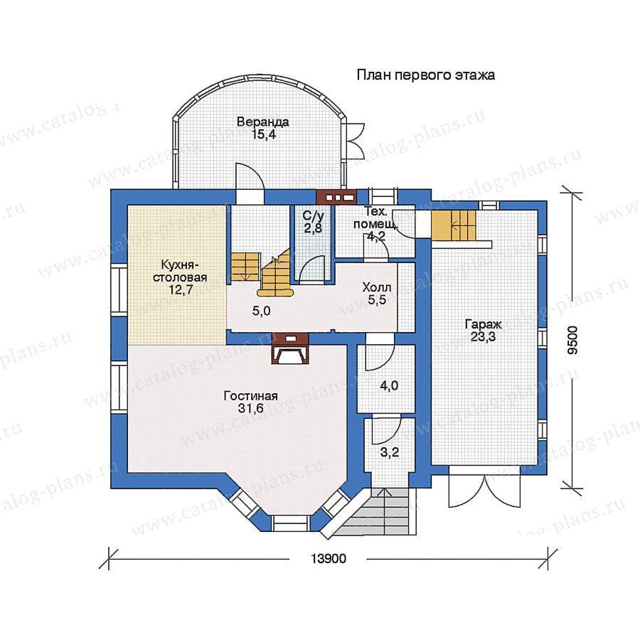 План 1-этажа проекта 50-11
