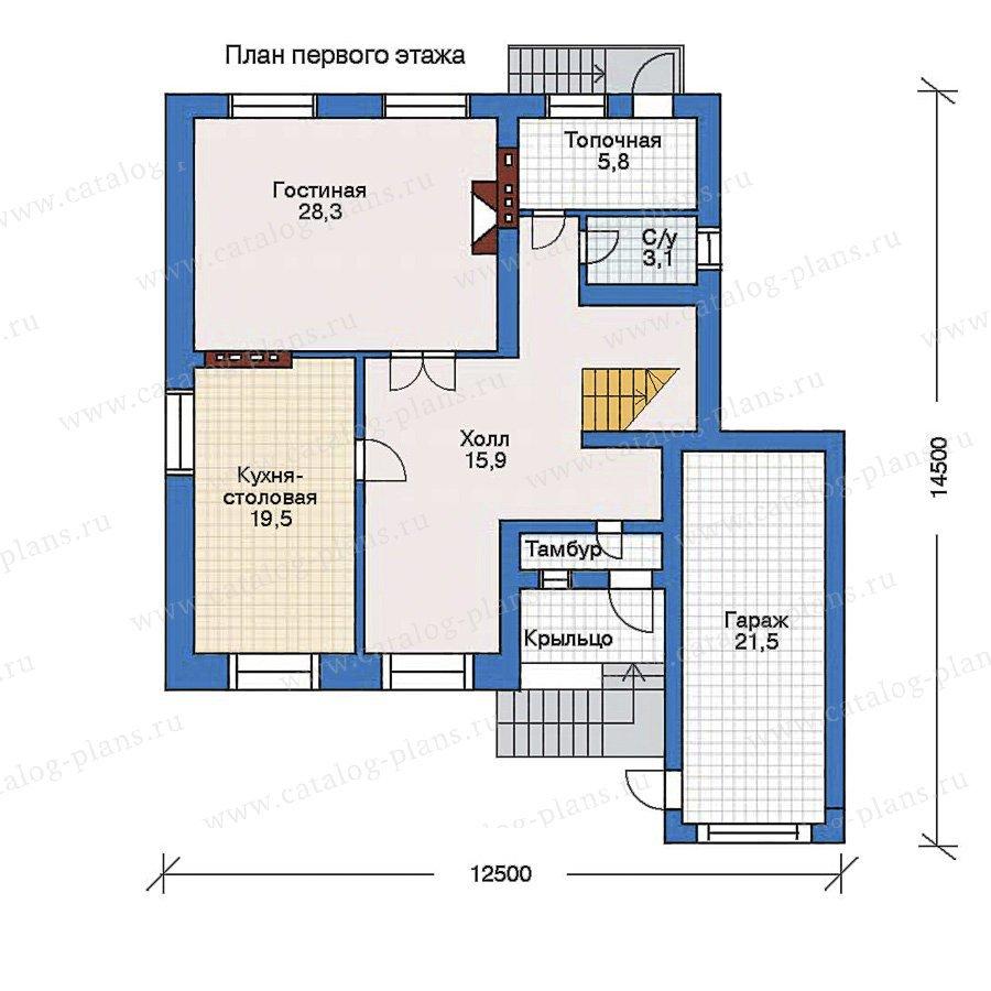 План 1-этажа проекта 50-97