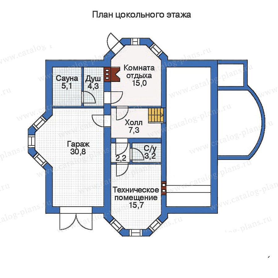 План 1-этажа проекта 50-69