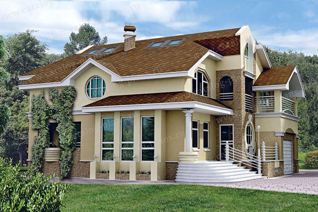 Проект жилой дом #51-23 материал - газобетон, стиль современный