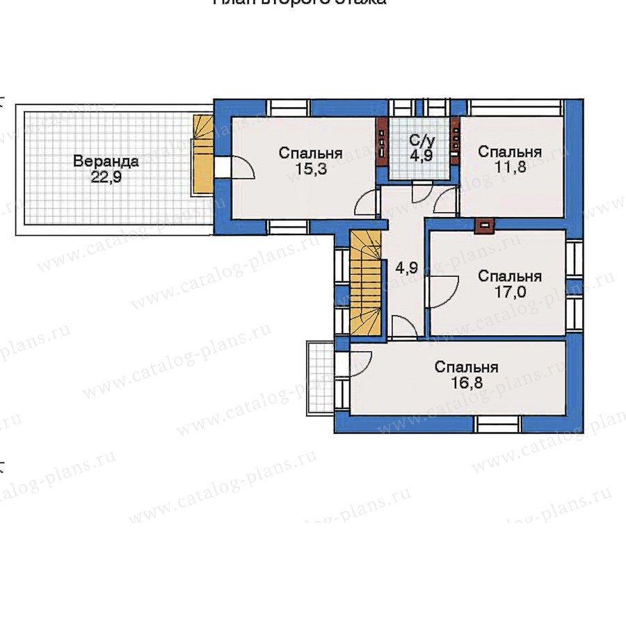 План 3-этажа проекта 50-91
