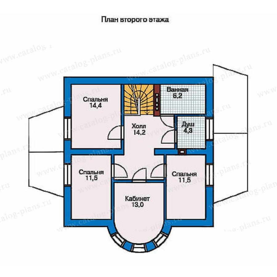 План 2-этажа проекта 50-94