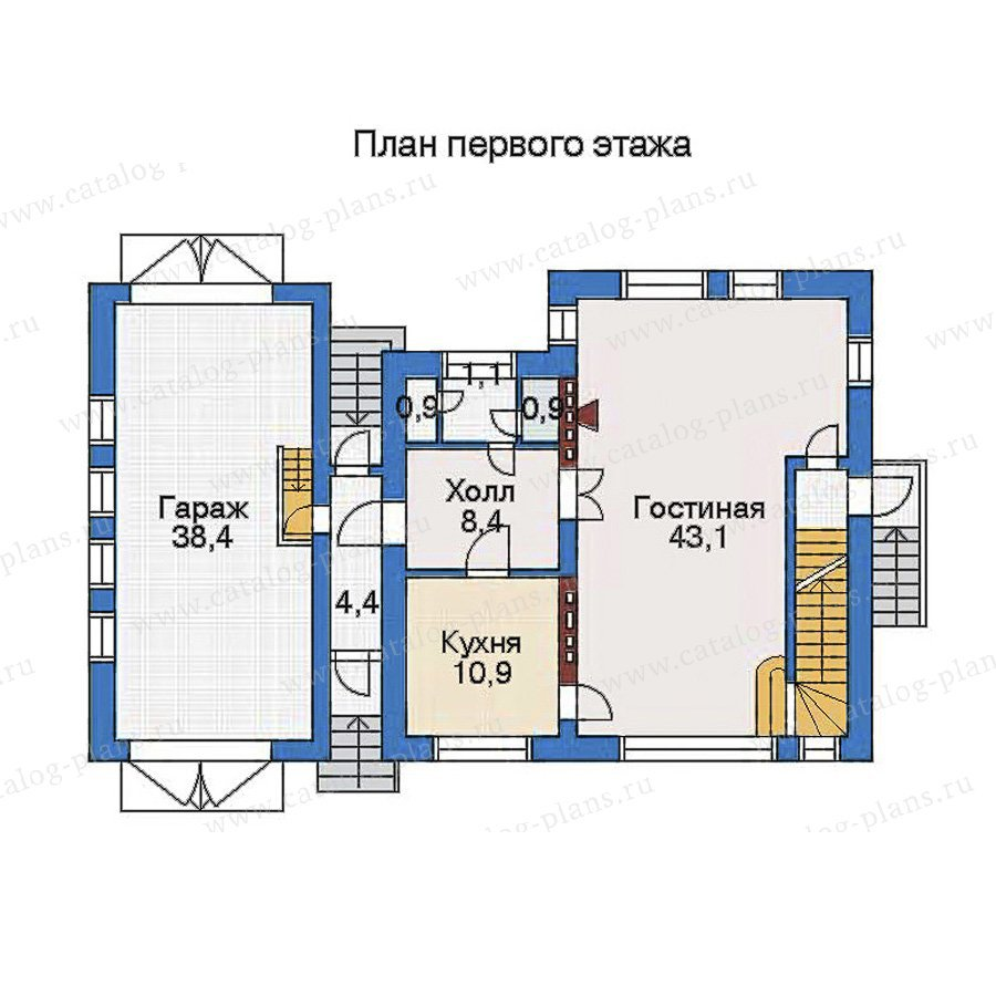 План 2-этажа проекта 51-06