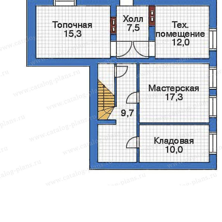 План 1-этажа проекта 50-91