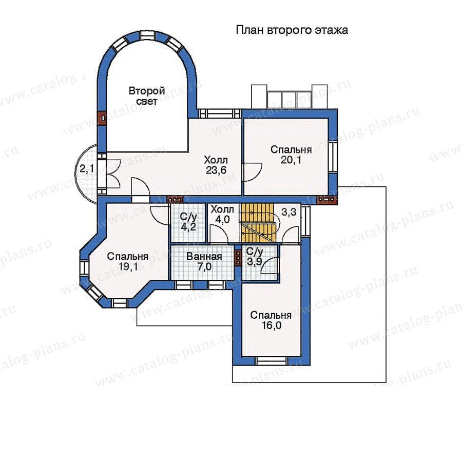 План 2-этажа проекта 50-99