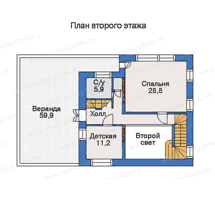 План 3-этажа проекта 51-06