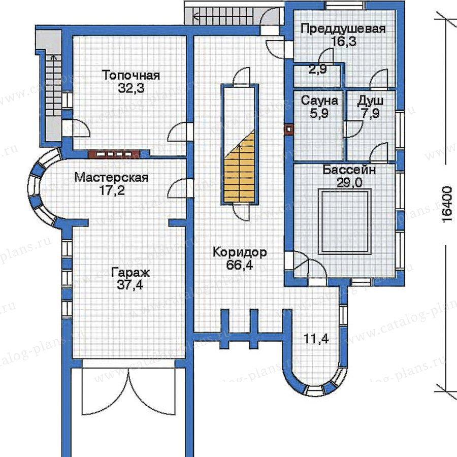 План 1-этажа проекта 50-98