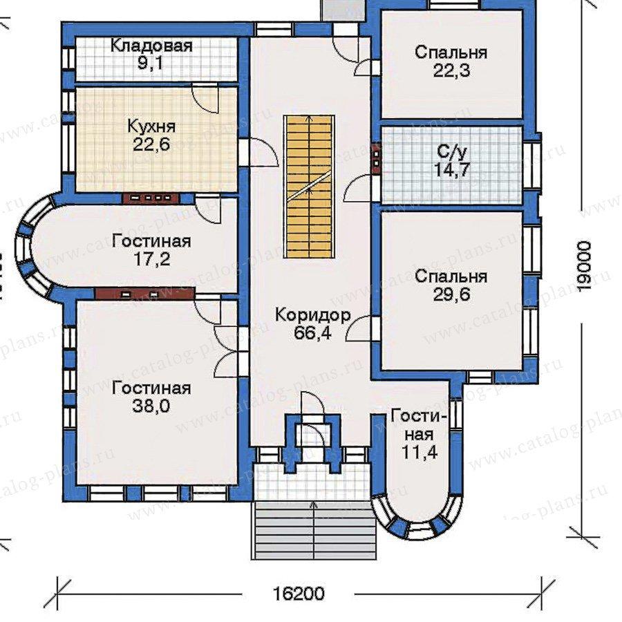 План 2-этажа проекта 50-98