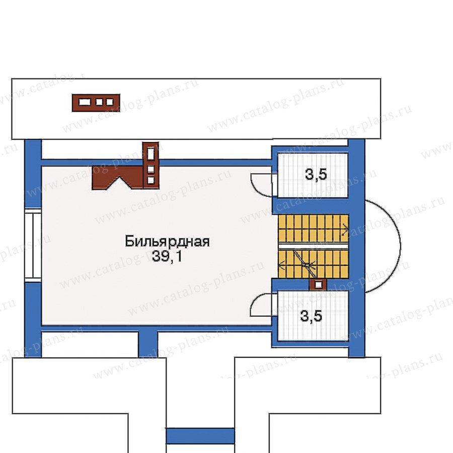План 3-этажа проекта 50-68