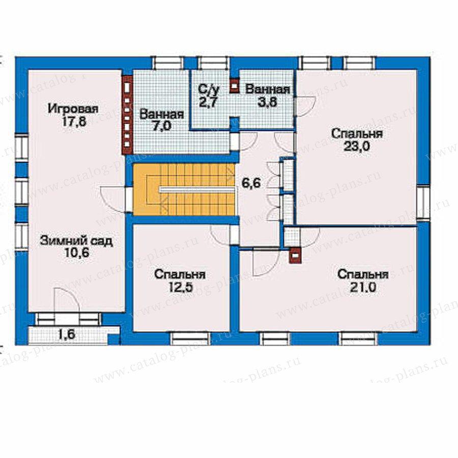 План 3-этажа проекта 51-22