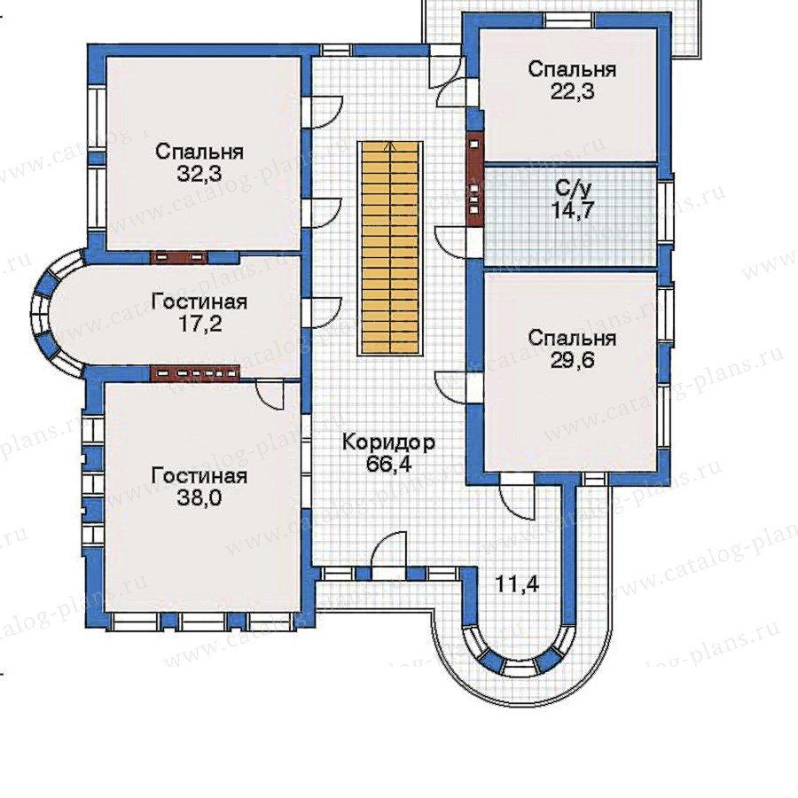 План 3-этажа проекта 50-98