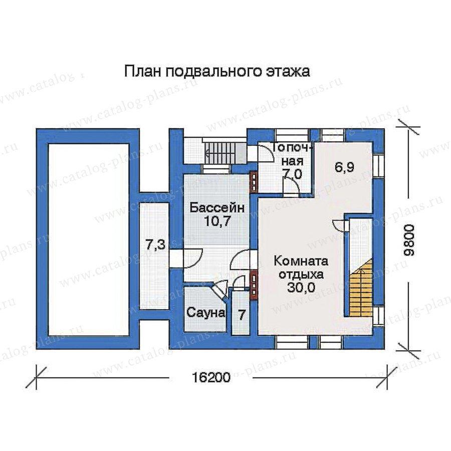 План 1-этажа проекта 51-06