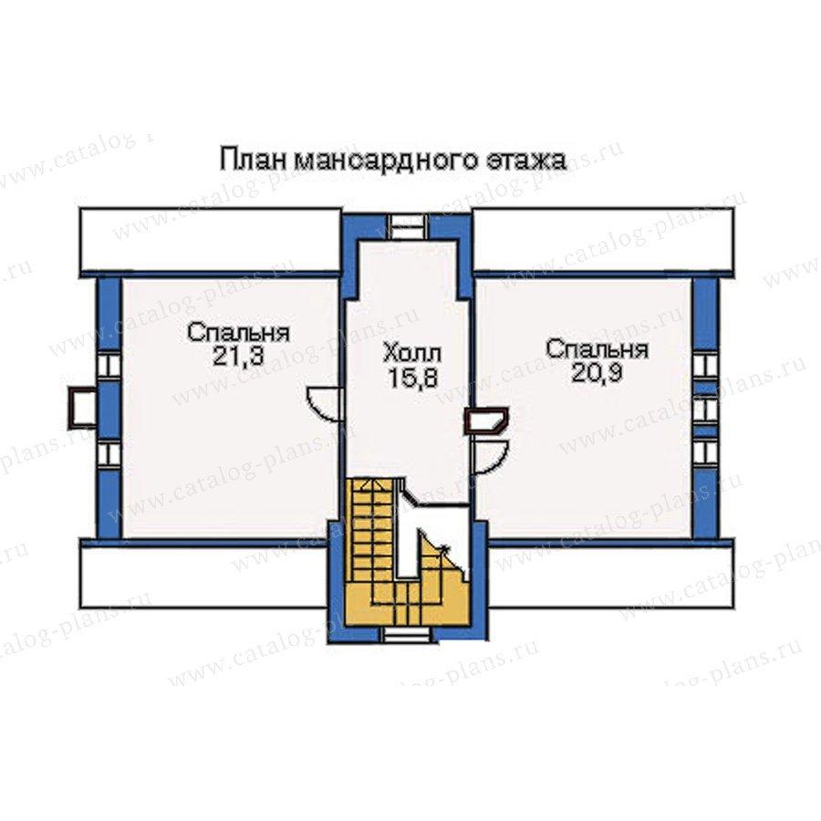 План 3-этажа проекта 51-19
