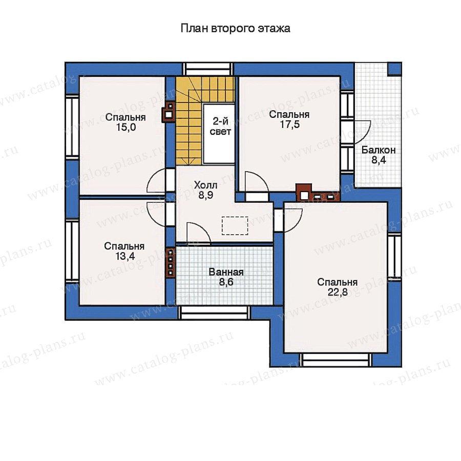 План 2-этажа проекта 51-00
