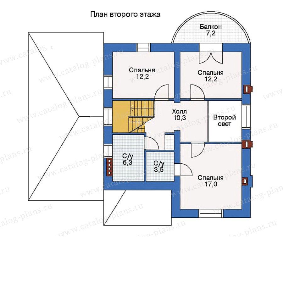 План 2-этажа проекта 51-27