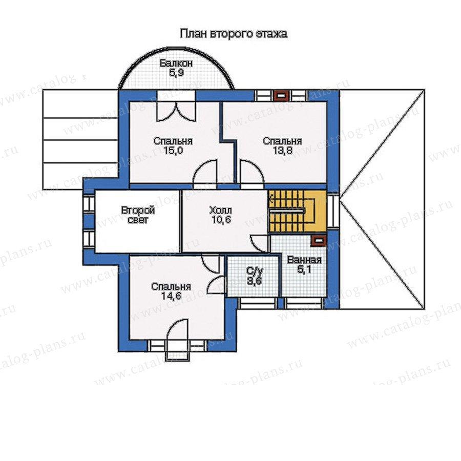 План 2-этажа проекта 50-67
