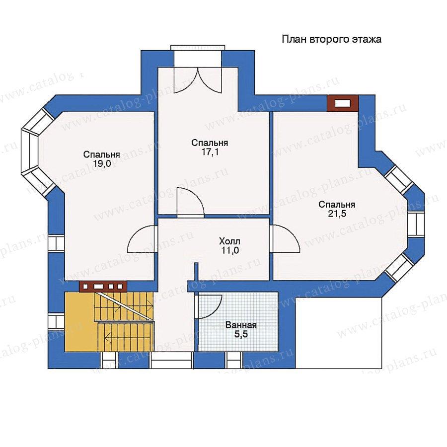 План 2-этажа проекта 51-28