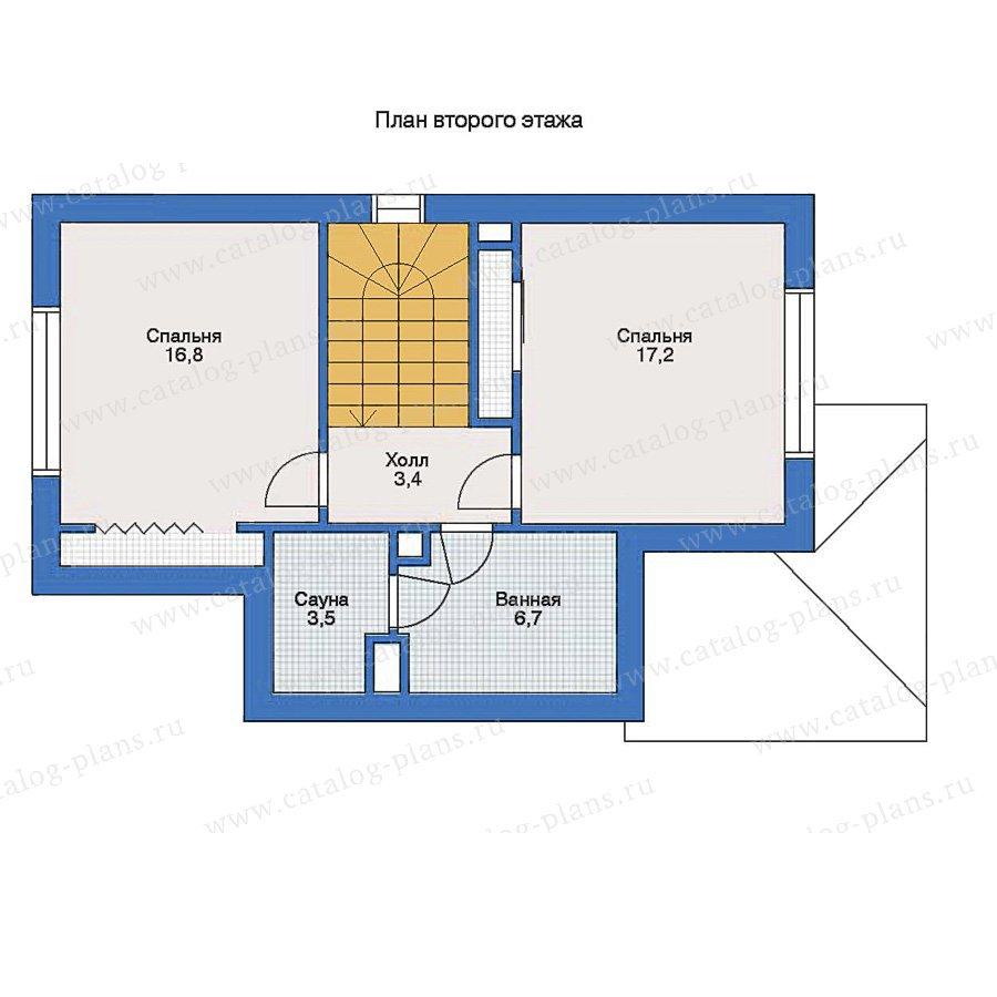 План 2-этажа проекта 51-50