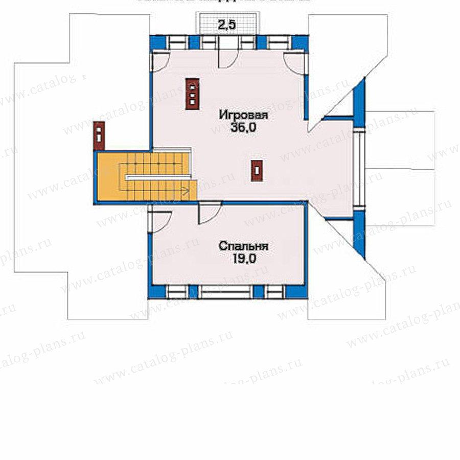 План 3-этажа проекта 51-95