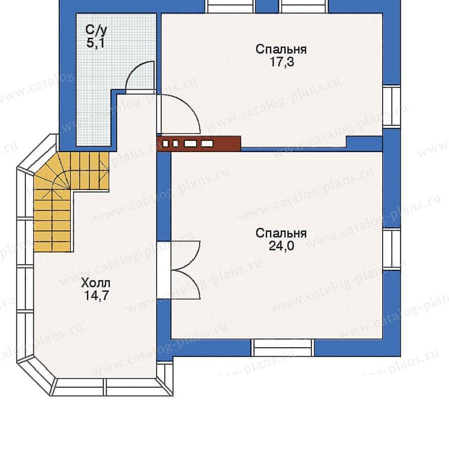 План 3-этажа проекта 51-42