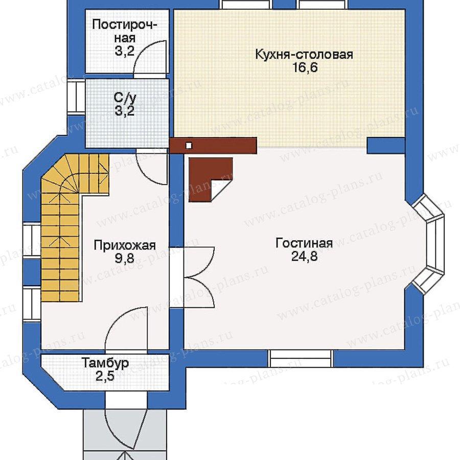 План 2-этажа проекта 51-42