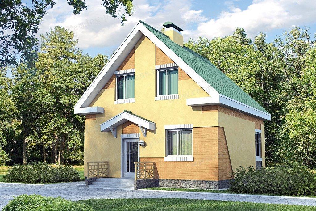 Проект жилой дом #51-54 материал - кирпич, стиль современный