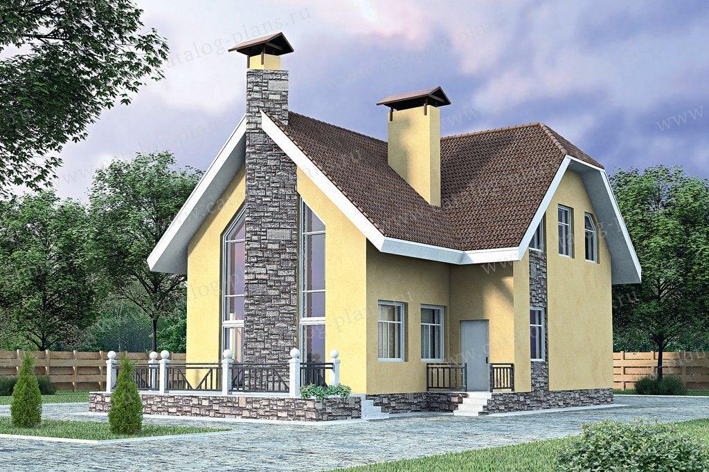 Проект жилой дом #51-63 материал - кирпич, стиль голландский