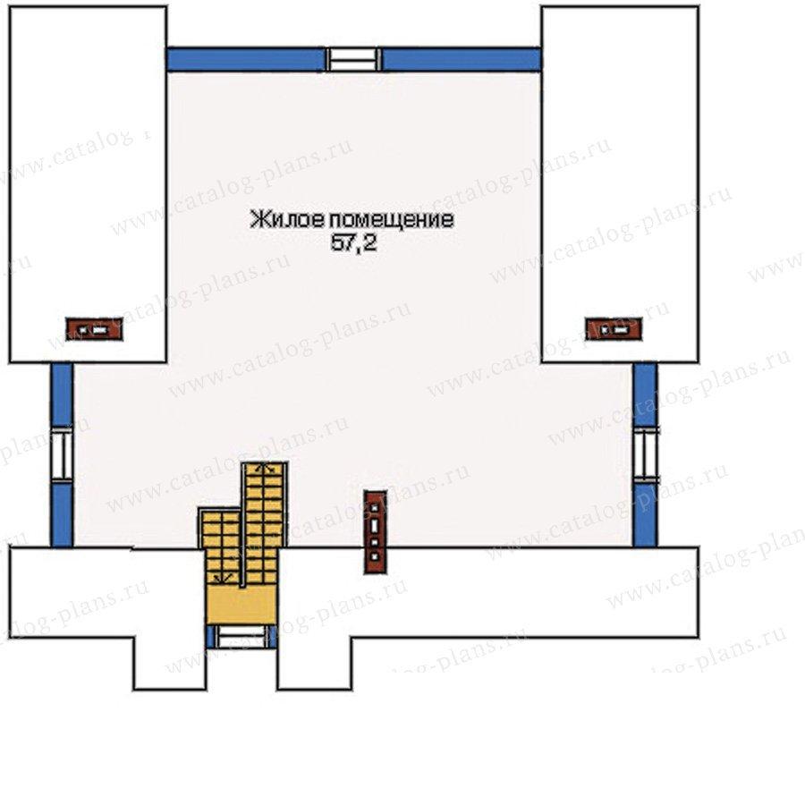 План 3-этажа проекта 51-45