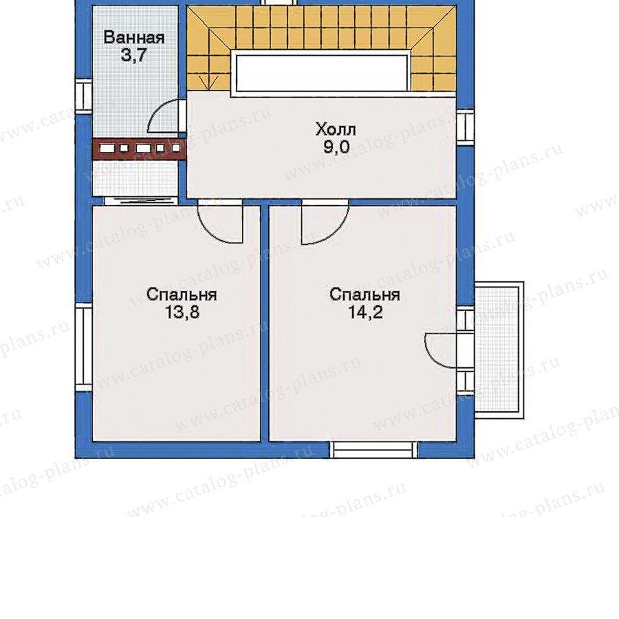 План 2-этажа проекта 52-06