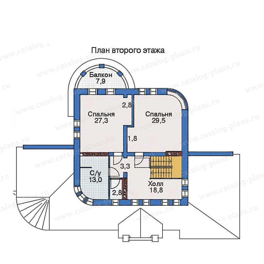 План 3-этажа проекта 52-13
