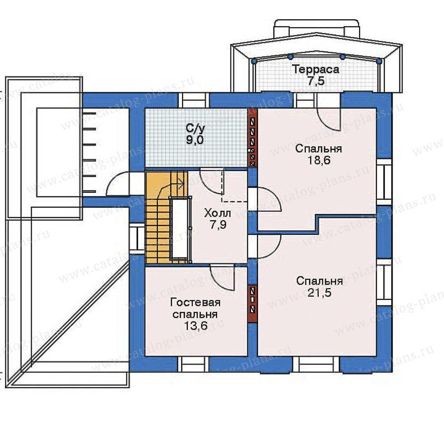План 3-этажа проекта 52-17