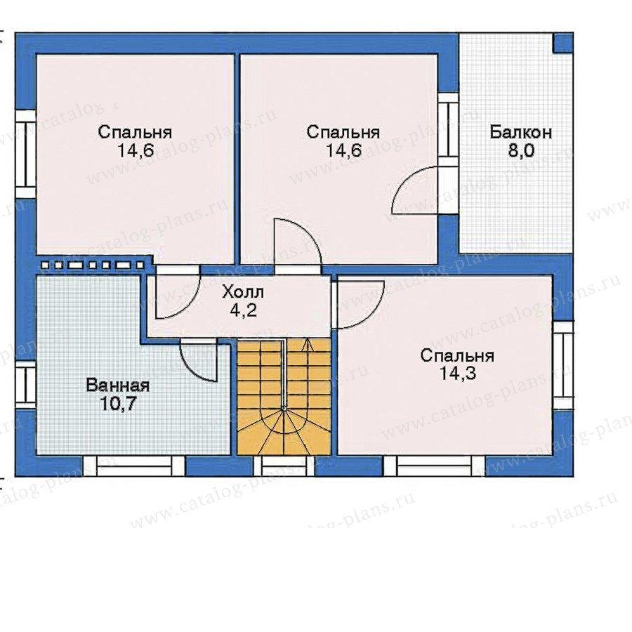 План 3-этажа проекта 52-53