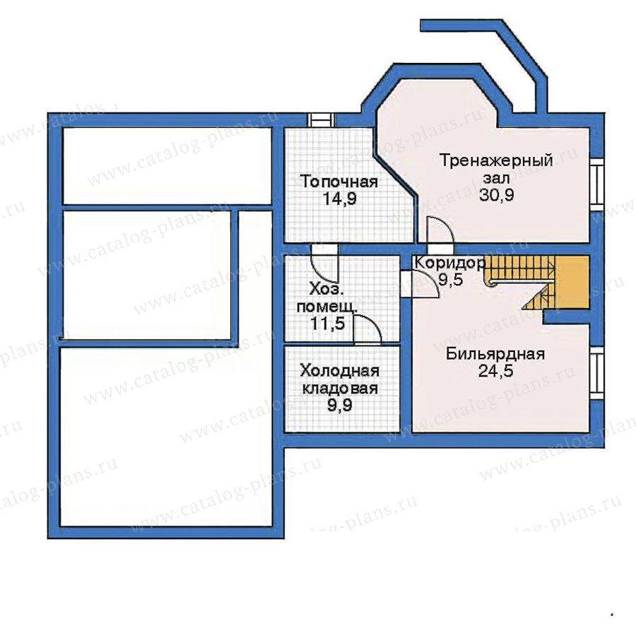 План 1-этажа проекта 52-27