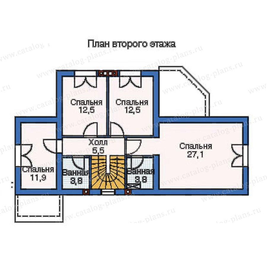 План 3-этажа проекта 52-29