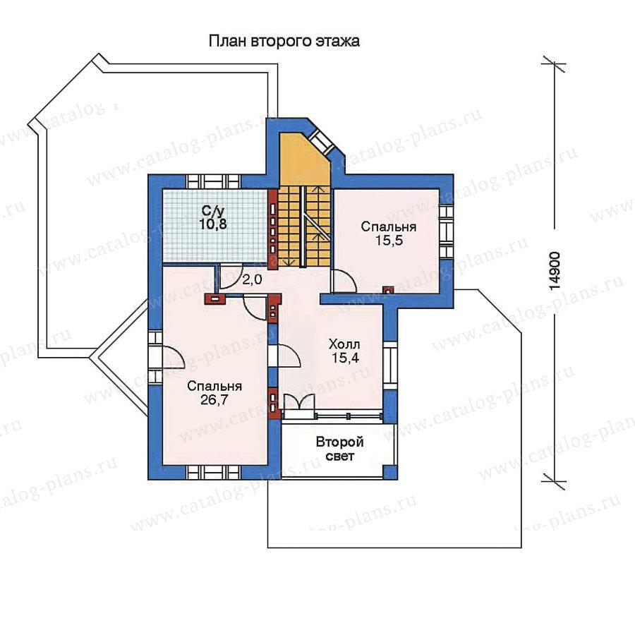 План 3-этажа проекта 52-23