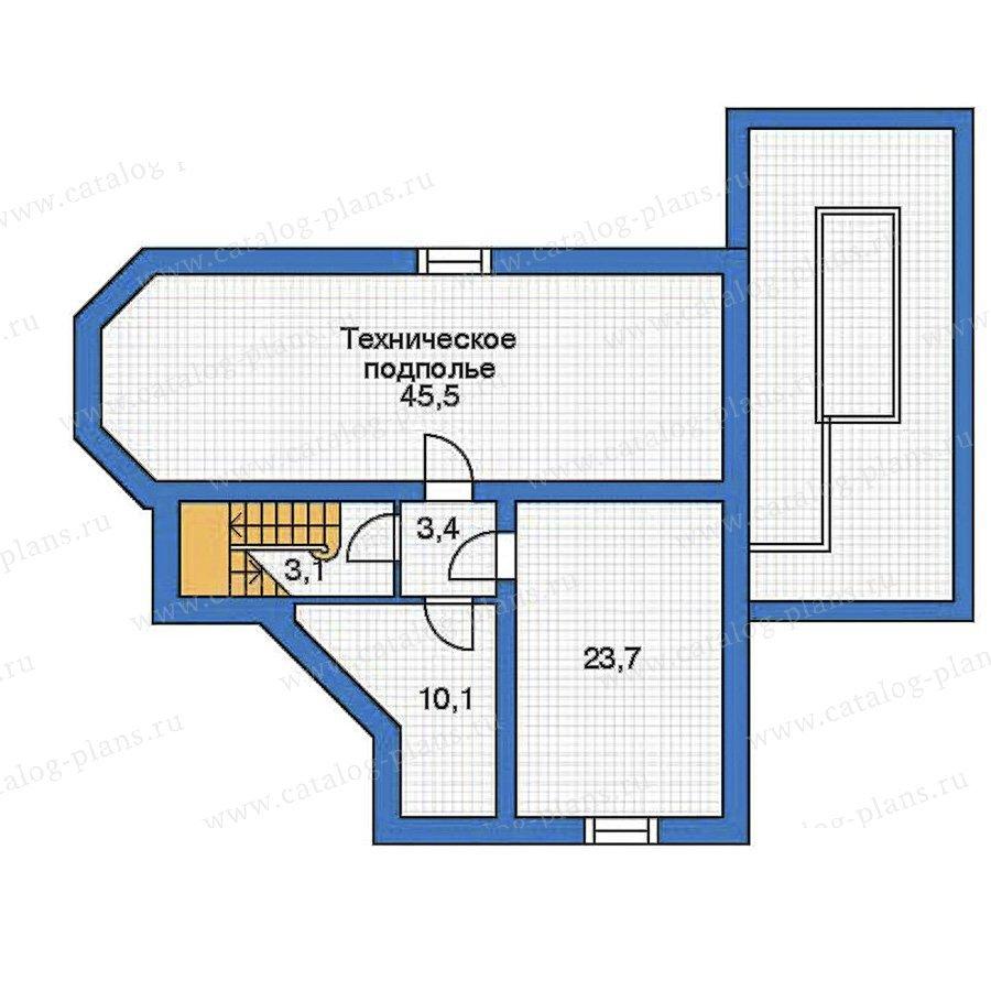 План 1-этажа проекта 52-19