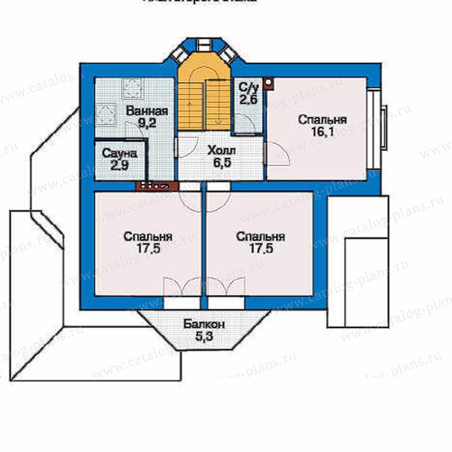План 3-этажа проекта 53-78