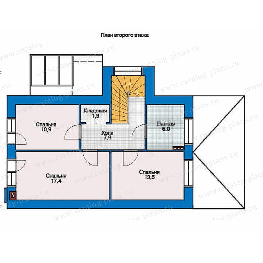 План 2-этажа проекта 53-81