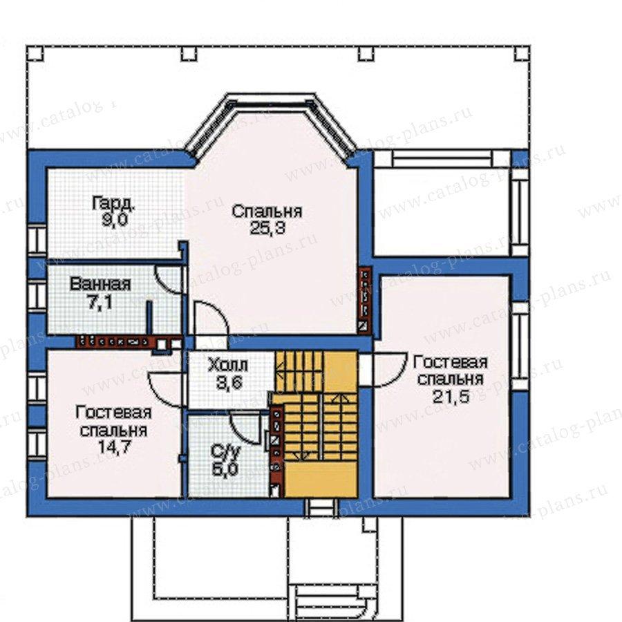План 3-этажа проекта 52-96