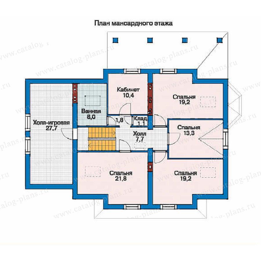 План 2-этажа проекта 53-13