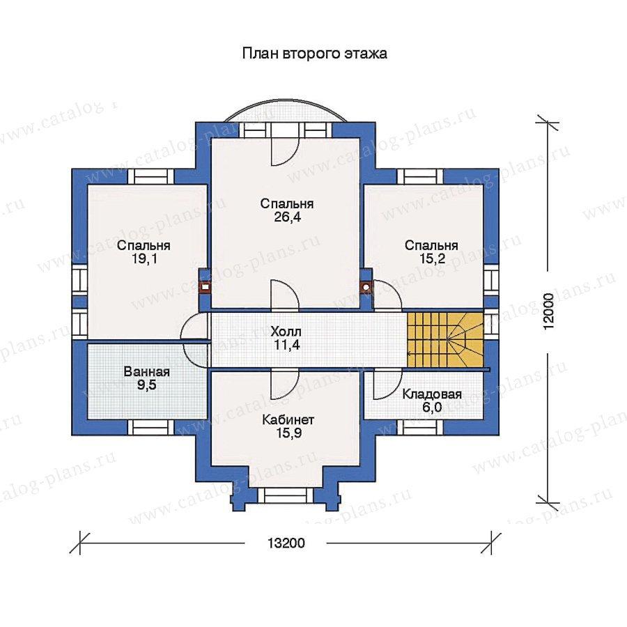 План 2-этажа проекта 53-19