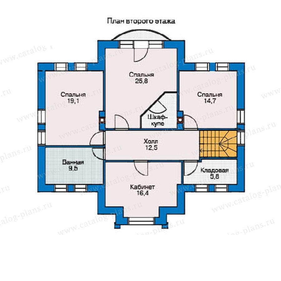 План 2-этажа проекта 53-36