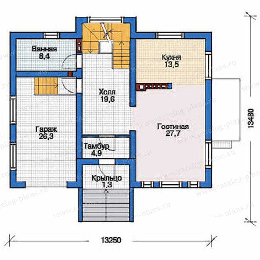 План 2-этажа проекта 53-55