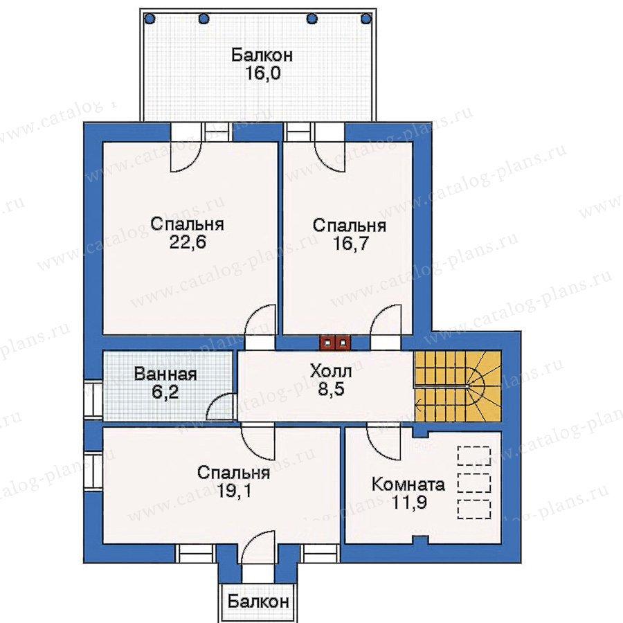 План 3-этажа проекта 53-08