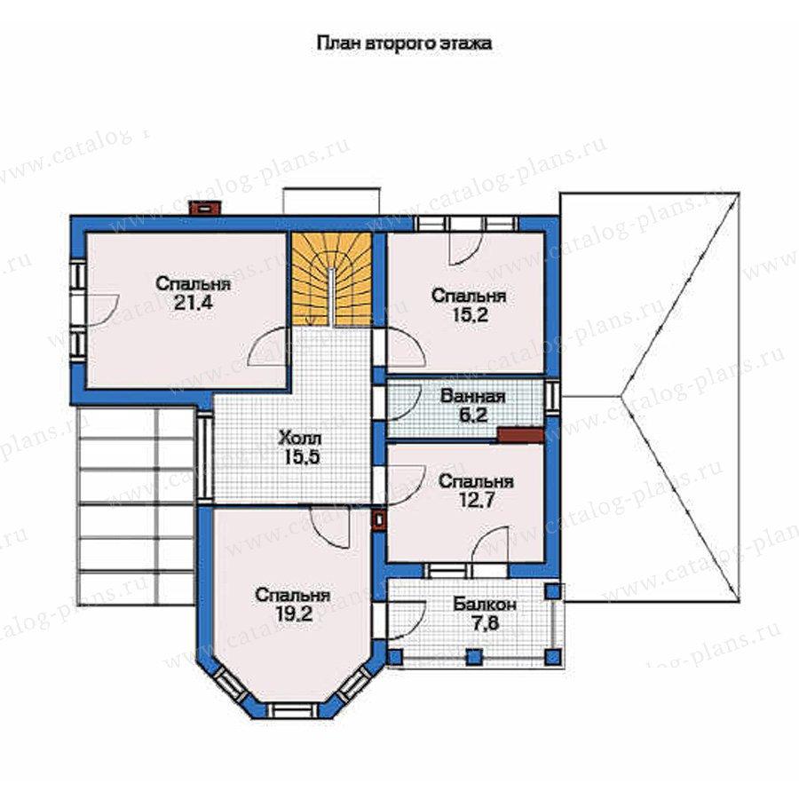 План 2-этажа проекта 54-11