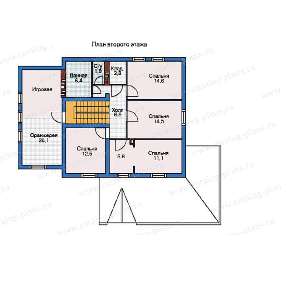 План 2-этажа проекта 55-03