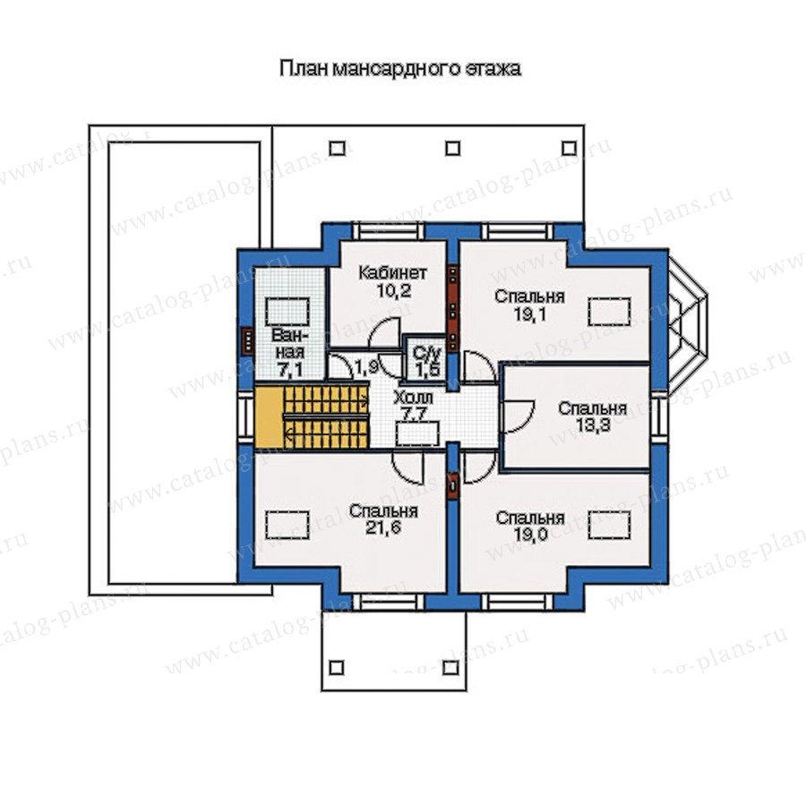 План 2-этажа проекта 54-97