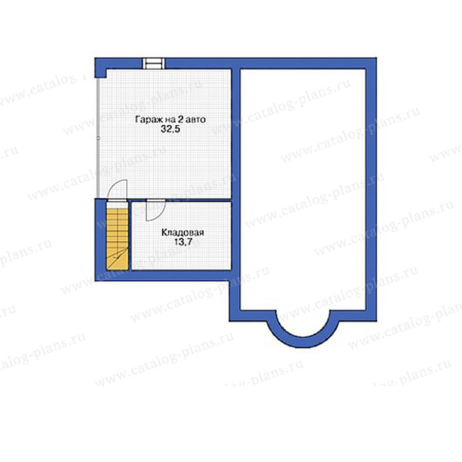 План 1-этажа проекта 55-00