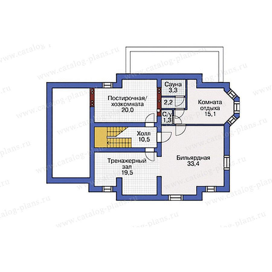 План 1-этажа проекта 54-82